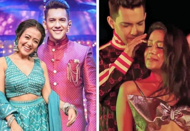 Just A Day After Their Wedding Neha Kakkar And Aditya Narayan S Steamy Bedroom Video Goes Viral Alive