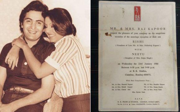 Rishi Kapoor & Neetu Singh's Wedding