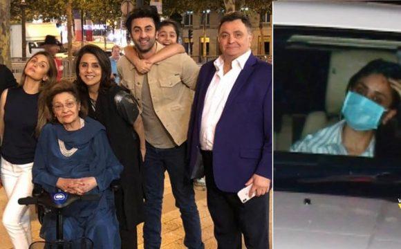 Kareena Kapoor Khan Visits Kapoor's Residence To Meet Riddhima, Neetu And Ranbir Kapoor After Rishi's Death