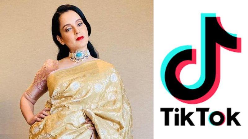 Kangana Ranaut Responds On TikTok Ban In India