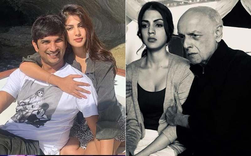 Sushant Singh Rajput's Girlfriend Rhea Chakraborty Came Running Back To Mahesh Bhatt For Counsel, Reveals Bhatt's Associate