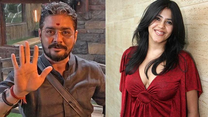 Hindustani Bhau and Ekta Kapoor