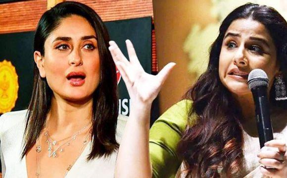 Kareena Kapoor body shamed Vidya Balan
